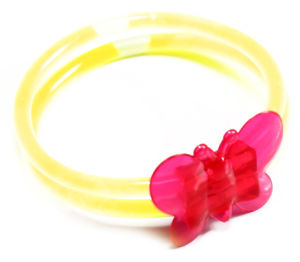 Individual Foilbag Glow Butterfly Bracelet pictures & photos