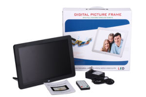12 Inch Slim Digital Picture Frame with HD Video Play pictures & photos