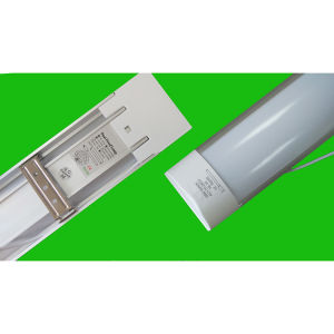 LED Dust Proof Tube Light-Flat Cap--18W-0.6m