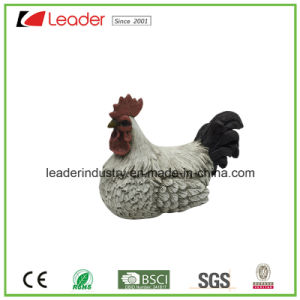 Hand Painted Polyresin Hen Statue for Easter Decoration and Garden Ornaments pictures & photos