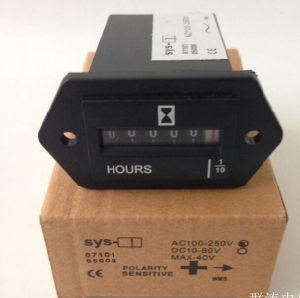 Hour Meter Counter Mechanical Display Meter for Motor or Enigneer Uses 6 Digits AC110-250V, DC10-80V pictures & photos