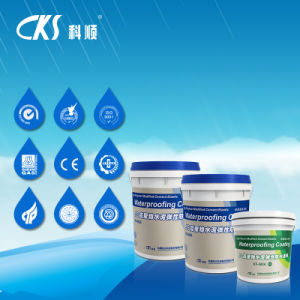 Ks-988A Js High Polymer Modified Cement Elastic Waterproof Coating pictures & photos