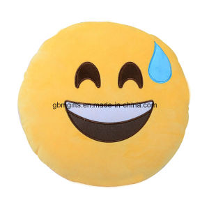 Emoji Cushion, Filled of Microbeads pictures & photos