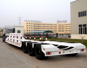 Low Bed Semi Trailer pictures & photos