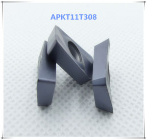 Cutoutil Apkt11t308 for Steel Alternative for Zcc   Milling Carbide Inserts pictures & photos