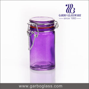 Customized Spray Color Glass Bottle pictures & photos