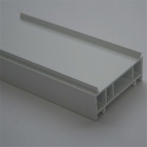 Bluish White PVC Pointer Plastic Building Material for UPVC Windows and Doors pictures & photos