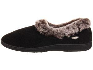 Top Round Fur Warm Memory Foam Slipper pictures & photos