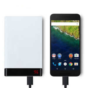 10000mAh Type-C Quick Charge Power Bank with 18650 Battery pictures & photos