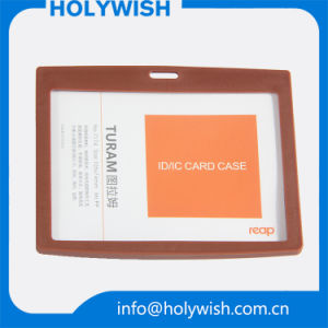 Business Horizontal Hard PP Card Case in Stock