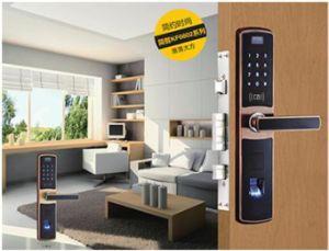 Fingerprint Scanner Door Lock, Fingerprint Door Handle, Electronic Lock pictures & photos