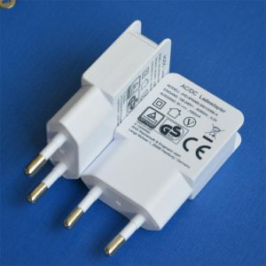 Full 5V1a EU Plug Travel USB Adapter pictures & photos