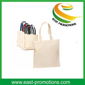 Customized Long Handle Standared Size Cotton Bag pictures & photos
