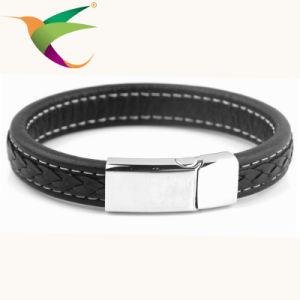 Stlb-17011014 Fashion Black Charm Bracelet for Man pictures & photos