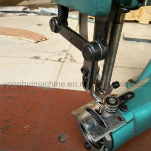 Heavy Duty Shoe Upper Attach to Thick Sole Sewing Machine pictures & photos