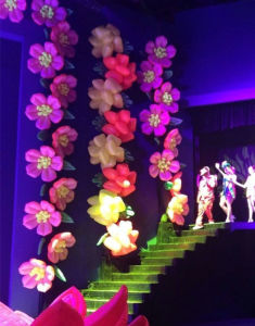 Party Inflatable Flower Chain for Stage Decoration