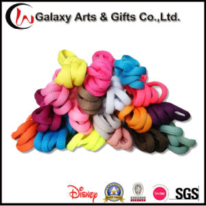 Wholesale Cheaped Colored Polyester Half Round Printed Shoelace pictures & photos