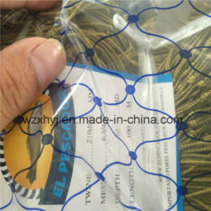 "210d/33 X 6 3/4"" X 40MD X 100m Nylon Multifilament Fishing Net pictures & photos"
