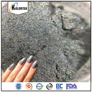 Holographic Nail Pigment, Cosmetic Holographic Powder Supplier pictures & photos
