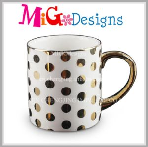 OEM Ceramic Promotion Plated Mug New Year Celebration pictures & photos