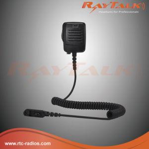 Walky Talky Compact Speake Rmcirophone for Motorola Dp2000 Dp2400 Dp2600 etc pictures & photos