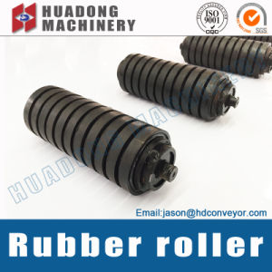 Conveyor Roller with Rubber Covered for Coal Mine Special Conveyor pictures & photos