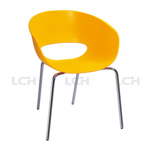 Modern Metal Frame Chair Replica Plastic Chair pictures & photos