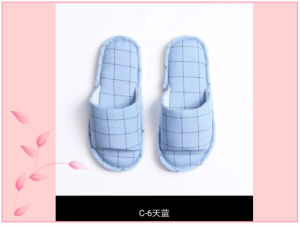 New Hot Lattice Summer Indoor Open Toe Slipper Men Wonmen pictures & photos