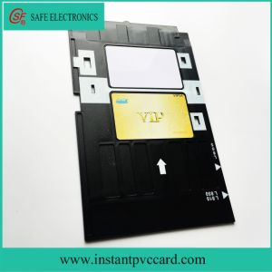 Ink Printing PVC Card Tray for Epson L800 Printer pictures & photos