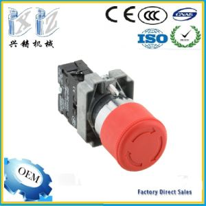 Xb2-BS442 30mm Mashrrom Head with Arrow 1 Nc 220V 22mm Emergency Stop Pushbutton Switch pictures & photos