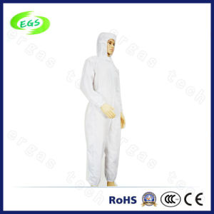 ESD Cleanroom Cloth with Hood pictures & photos
