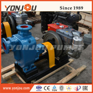 Diesel Engine Self Priming Water Pump with Trailer pictures & photos