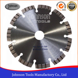 150mm Laser Welded Saw Blade for Granite with Turbo Type pictures & photos