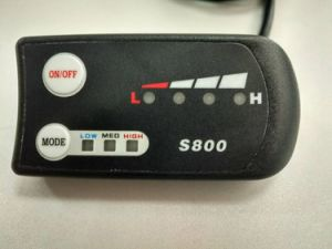 S800 Electric Bike LCD Display with Ce and RoHS pictures & photos