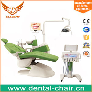 Professional Gladent Dental Chair with Mobile Dental Carts pictures & photos