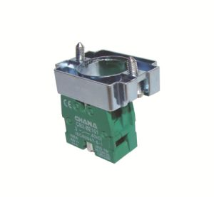 Electrical 22mm Various Flush Button Spring Return Pushbutton Switch pictures & photos