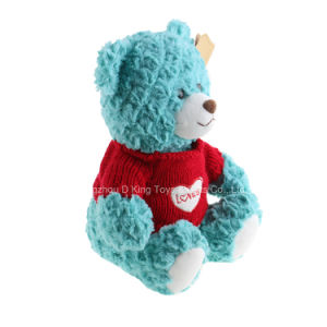 Hot Sale Stuffed Animal Plush Teddy Bears Wearing Sweater Bear pictures & photos