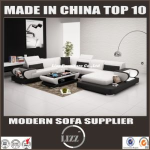 Unique Leather Sectional Sofa Furniture Lz3314 pictures & photos