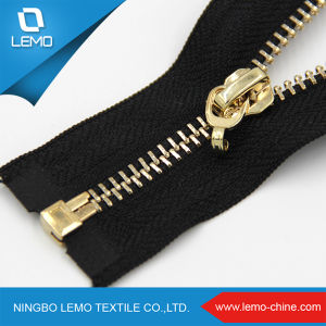 Best Selling Quality Open End Metal Zipper pictures & photos