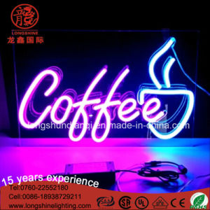 Custom Decoration Neon Sign for Coffee Shop pictures & photos