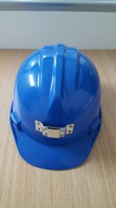 Plastic Work Caps Safety Helmet with LED Light FM Cert pictures & photos