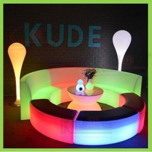 LED Modern Couch Glowing Corner Sofa Illuminated Bat Set pictures & photos