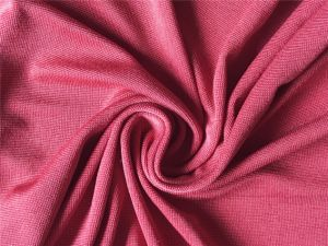 Polyester/Rayon Spandex Knitted Jersey Fabric pictures & photos