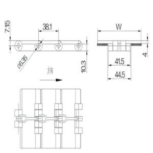 Conveyor Chain (820-K250) pictures & photos