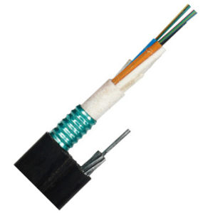 Steel Messenger Wire Figure 8 Self-Support Fiber Optic Cable Gytc8s pictures & photos