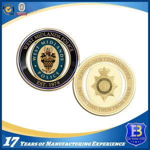 Custom Made Metal Brass Plated Commemorative Coins pictures & photos