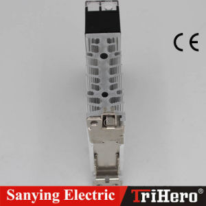 15A AC Input Singe Phase Power DIN Rail Solid State Contactor pictures & photos