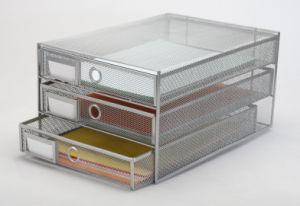 Men′s Office Desk Accessories/ Metal Mesh Stationery File Tray/ Office Desk Accessories pictures & photos