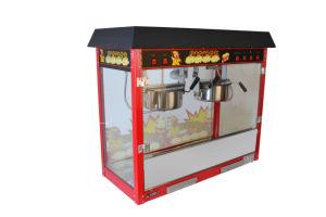 Double S/S Pots Commercial Electrical Popcorn Maker Popcorn Machine pictures & photos