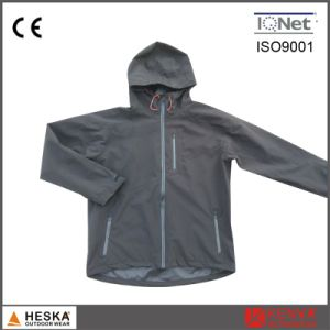 Cheap Wholesale Mens Polyester Softshell Waterproof Track Jacket pictures & photos